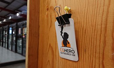CGHero cards on plywall